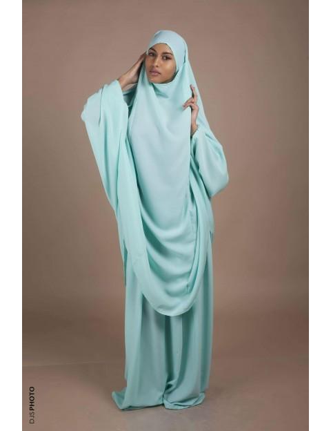 Jilbab Jupe Vert pastel