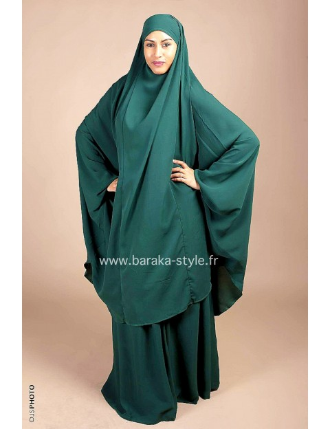 Jilbab Jupe Vert sapin