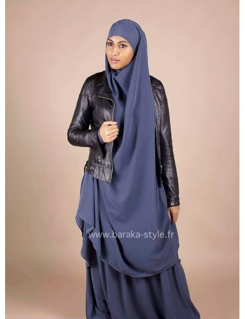 Jilbab Jupe Bleu-jeans