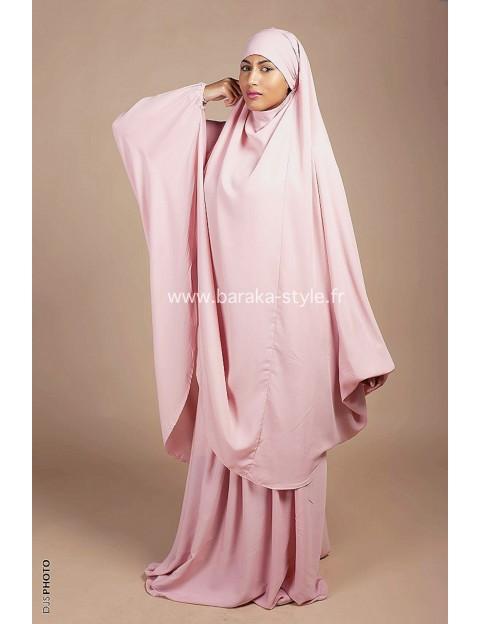 Jilbab Jupe Rose Poudré