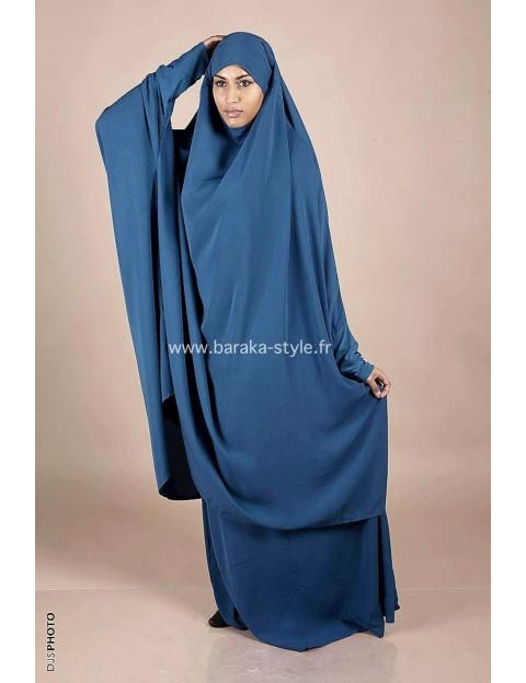 Jilbab Jupe Bleu Canard