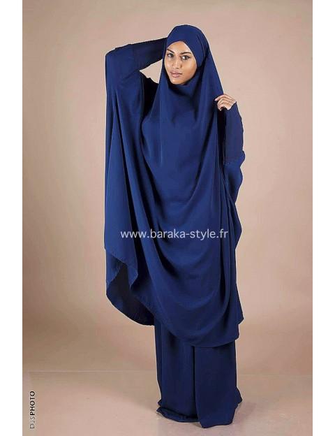 Jilbab Jupe Bleu électrique