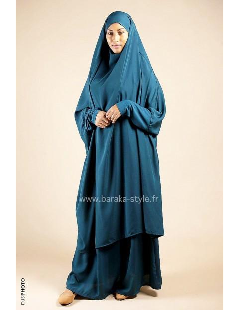 Jilbab Jupe Vert Canard