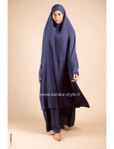 Jilbab Jupe Bleu nuit