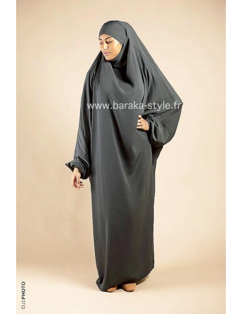 Jilbab Une pièce Vert olive