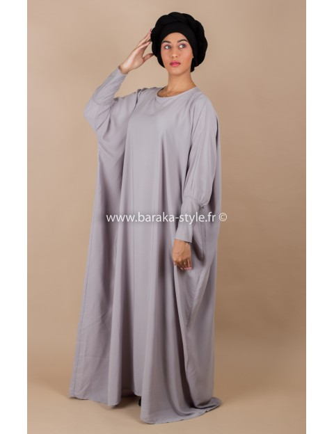 Abaya Gris Perle