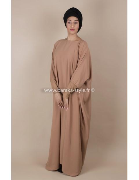 Abaya Camel Clair