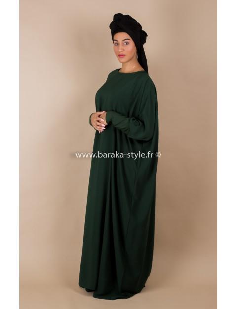 Abaya Vert forêt