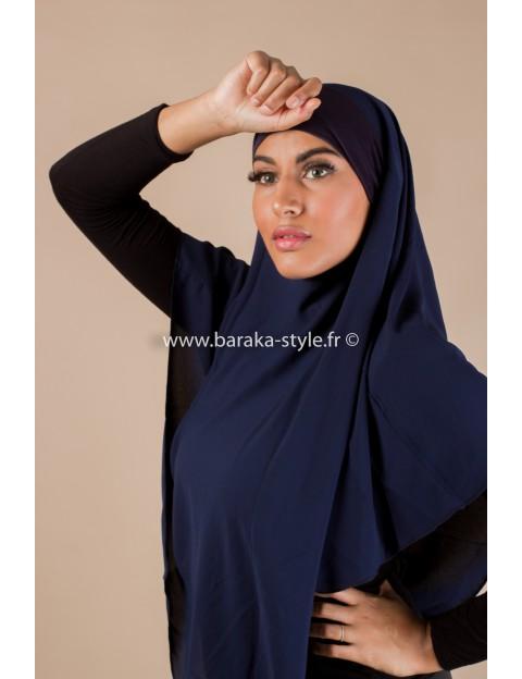 Hijab Noura Bleu-nuit