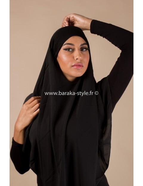 Hijab Noura Noir