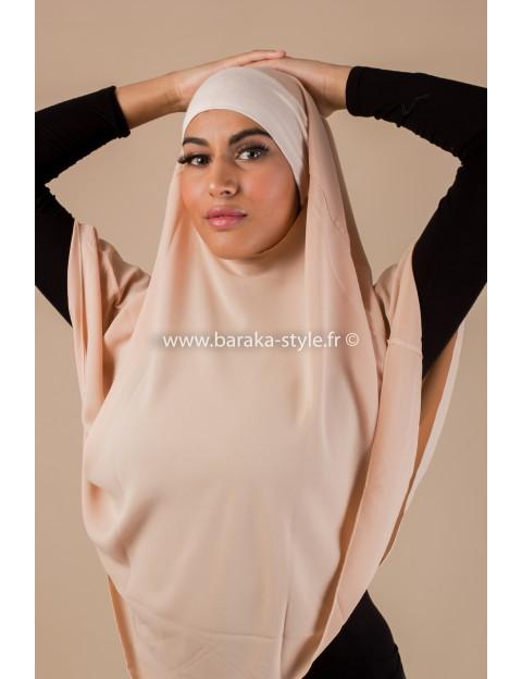 Hijab Noura Saumon