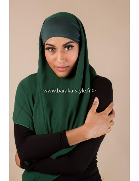 Hijab Noura Vert-forêt