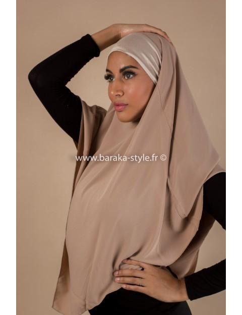Hijab Noura Taupe