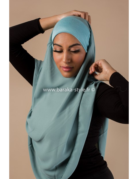 Hijab Noura Bleu d'eau