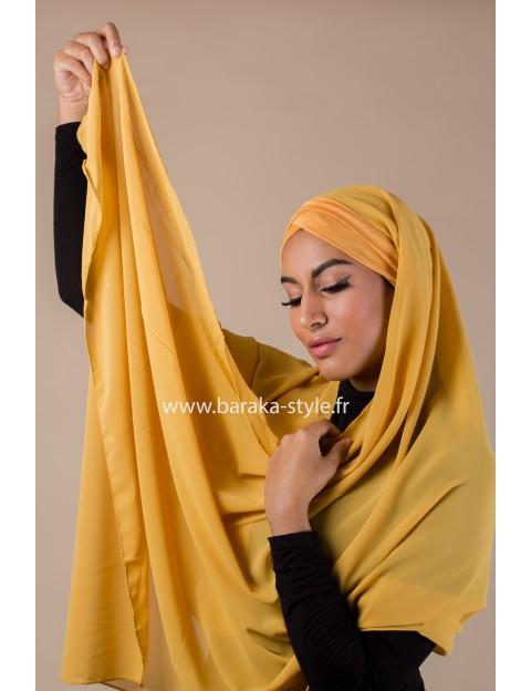 Hijab Malia Moutarde