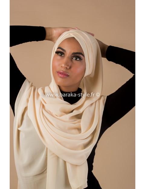 Hijab Malia Beige lumineux