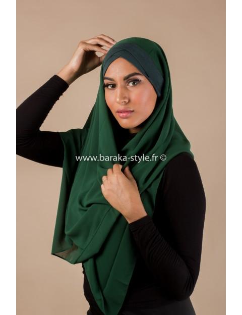 Hijab Malia Vert