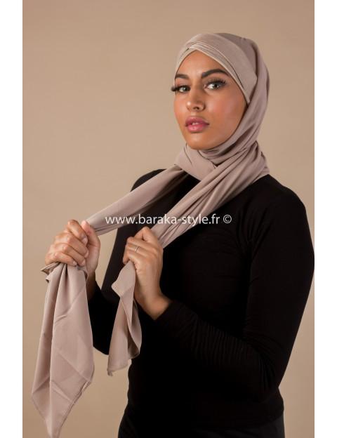 Hijab Malia Taupe