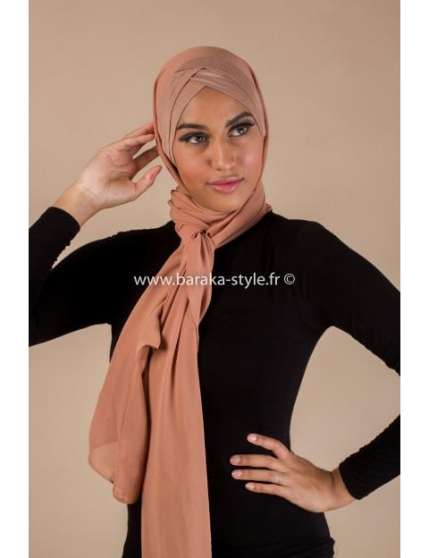 Hijab Malia Camel